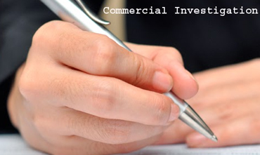 Commercial enquiries & investigation